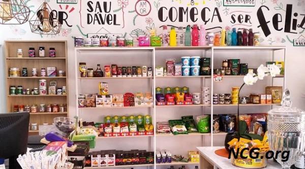 Loja de produtos naturais na Granja Viana (SP) Nattu Vita