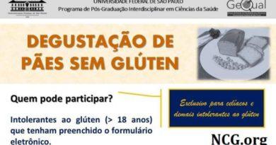 Degustação de pães sem gluten para celíacos em Santos (SP)