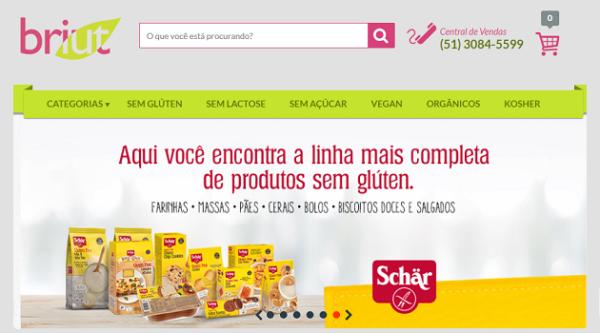 Briut Alimenta Sua Vida : Loja de produtos sem gluten em Porto Alegre - RS