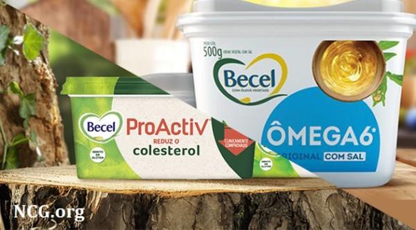 Margarina Becel Pro Activ e Omega 6 contém leite ou lactose ?? Confira a resposta do SAC