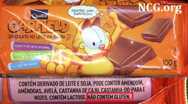 Chocolate Garfield Qualita