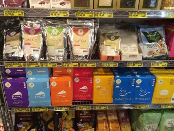 Loja de Produtos sem glúten em São Paulo (SP) - Casa Santa Luzia - Mix de farinhas sem glúten. NCG.org