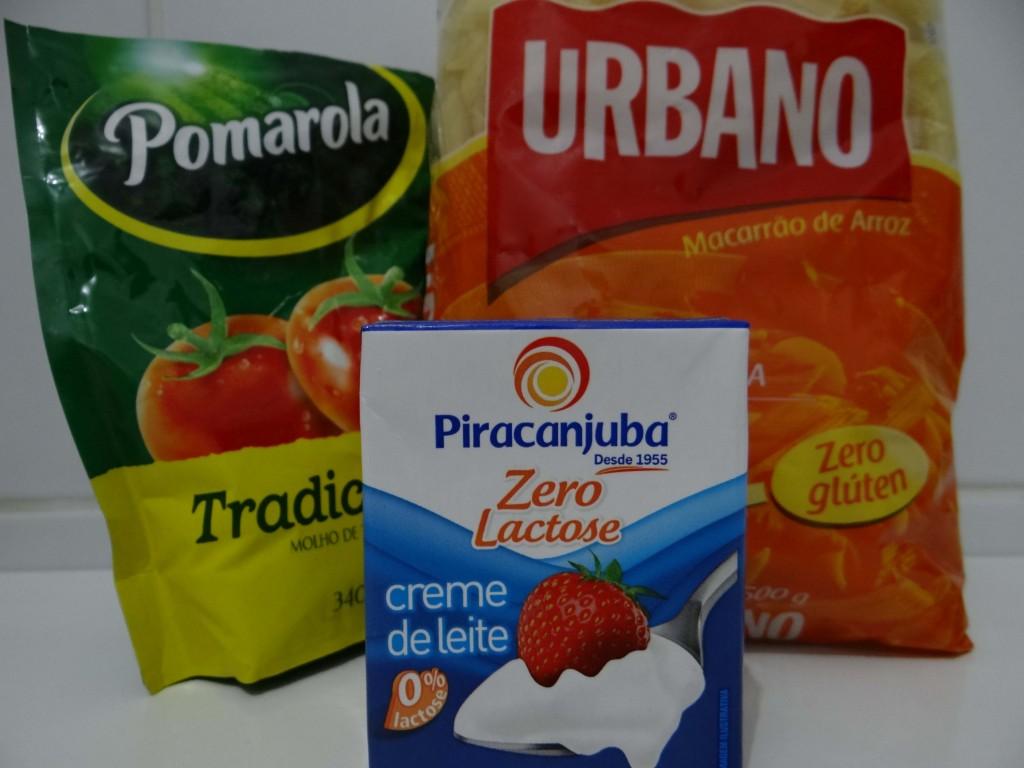 Ingredientes - Como fazer macarrão cremoso na panela de arroz sem gluten !