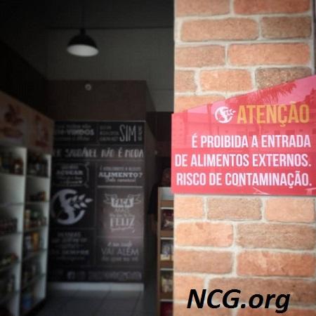 Adivertência sem gluten - Padaria sem gluten e sem lactose em Goiânia (GO) Sanus - NaoContemGluten.ORG