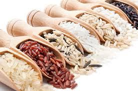 Tipos de arroz naturalmente sem glúten