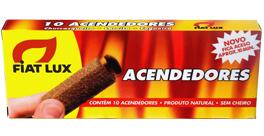 Acendedor FIATLUX contém trigo