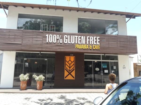 Padaria sem glúten em Florianópolis (SC) - Glúten Free Panificação - Fachada sem glúten. NCG.org
