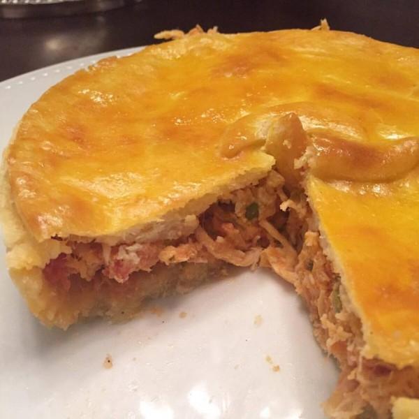 Senza Glutine Torta de Frango cremosa sem glúten