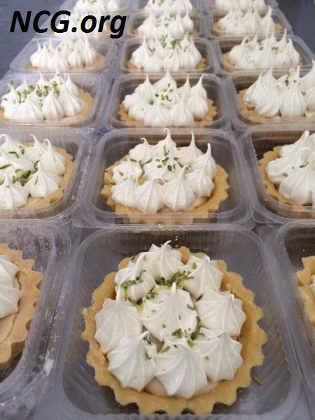 Torta de limão sem gluten - Loja de produtos funcionais sem gluten em Natal (RN) Sabor Perfeitto - Não Contém Gluten