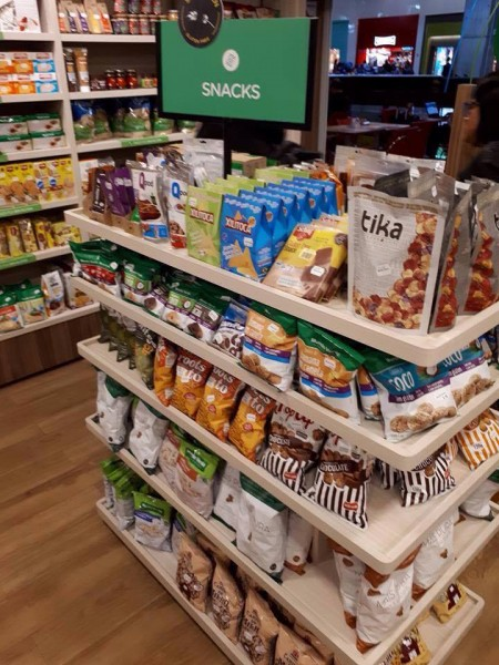 Loja Mundo Verde em Aeroporto de Cumbica, Guarulhos/SP snacks sem glúten