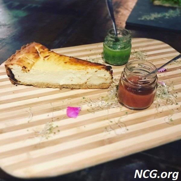 Cheesecake sem gluten - Restaurante sem gluten em Blumenau (SC) Âme Gastronomia Funcional - Não Contém Gluten