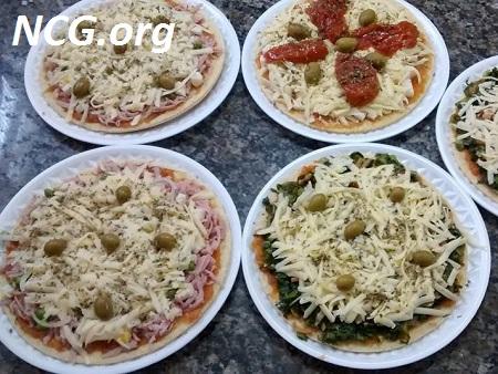 Pizzas sem gluten - Rotisserie sem gluten em São Paulo (SP) Cláudia Finos Sabores - NaoContemGluten.ORG