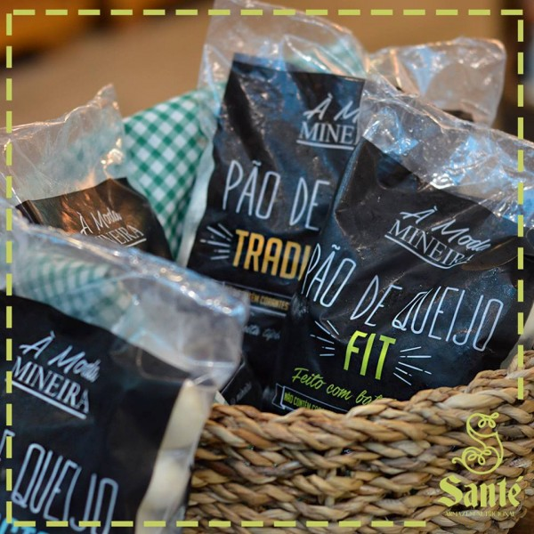Loja de produtos sem glúten em Santa Catarina (SC) - Santé Armazém Funcional - Pão de queijo sem glúten. NCG.org
