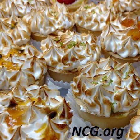 Tortinhas de limão sem gluten e sem lactose - Padaria sem gluten e lactose em Campinas (SP) Zero Trigo Não Contém Gluten