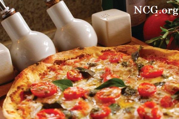 Pizza marguerita sem gluten - Pizzaria sem gluten e sem lactose em Brasília (DF) Pinoli - Não Contém Gluten