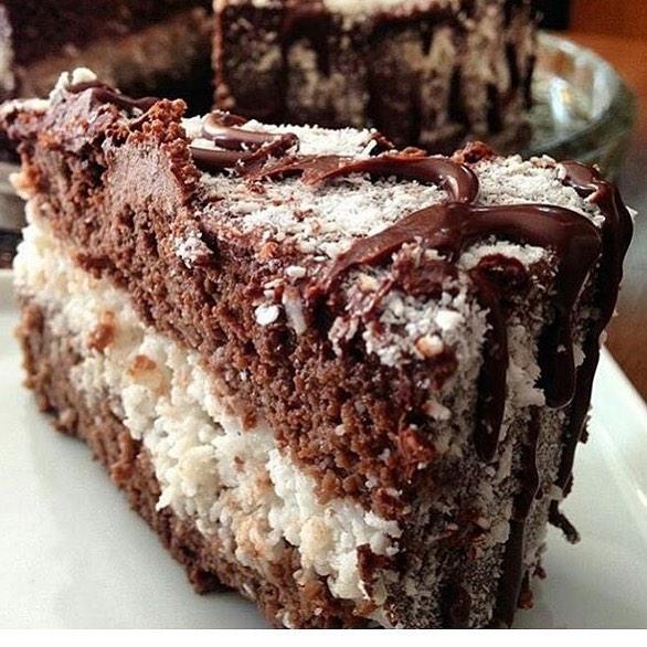 Seleve Momentos Saudáveis Fatia de torta prestígio low carb, sem glúten