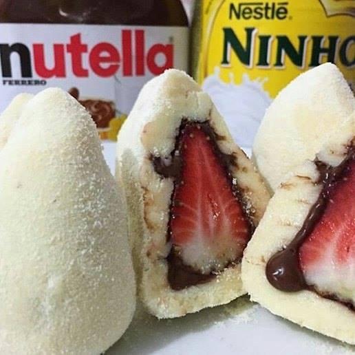 Divino Ateliê Milla Moraes Docinhos de nutella com ninho sem glúten