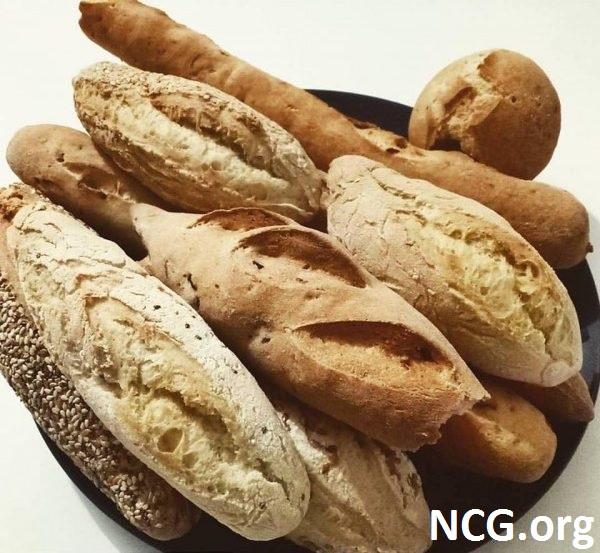 Pães sem glúten - Curso de culinária sem glúten em Moóca (SP) Cucina Não Contém Glúten