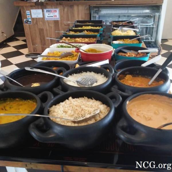 Buffet de pratos quentes sem gluten  - Padaria sem gluten e sem lactose em Brasília (DF) Komboleria - Não Contém Gluten