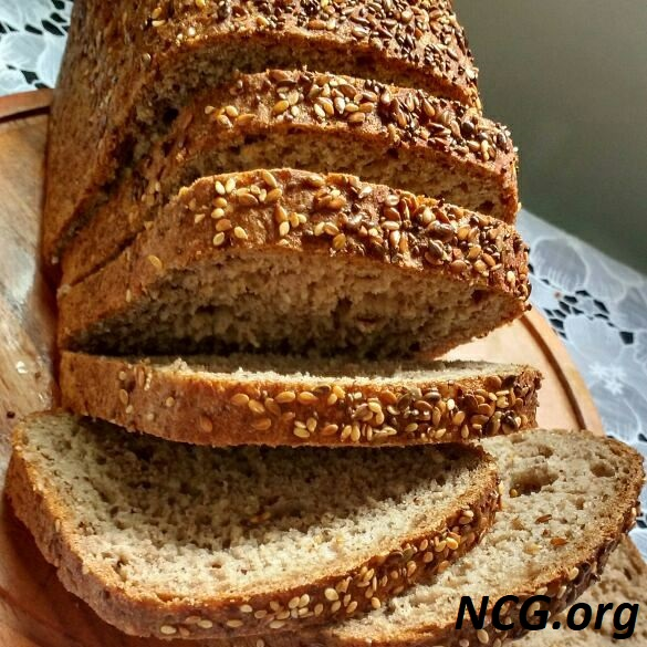 Pão integral 7 grãos sem gluten - Padaria sem gluten e sem leite em Brasília (DF) Nutribakery - Não Contém Gluten