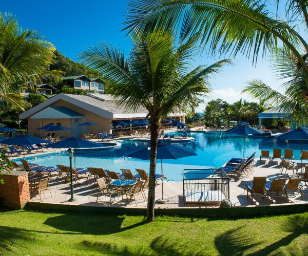 Resort sem glúten em Santa Catarina (SC) - Infinity Blue Resort & Spa - Piscina não contém glúten. NCG.org