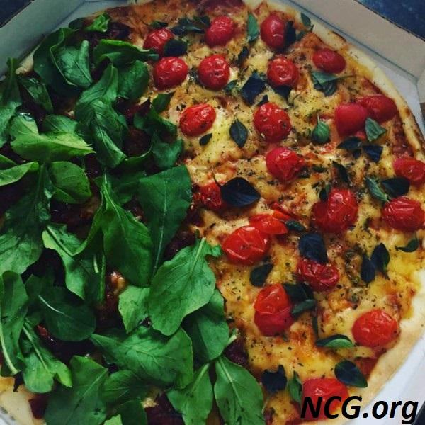 Pizza vegetariana sem gluten e sem leite - Padaria sem gluten e sem leite em Brasília (DF) Nutribakery - Não Contém Gluten