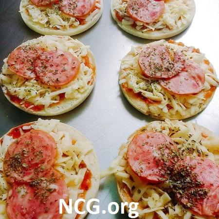 mini pizzas sem gluten - Padaria sem gluten em Grajaú (RJ) Delícias da Rafa - Não Contém Gluten