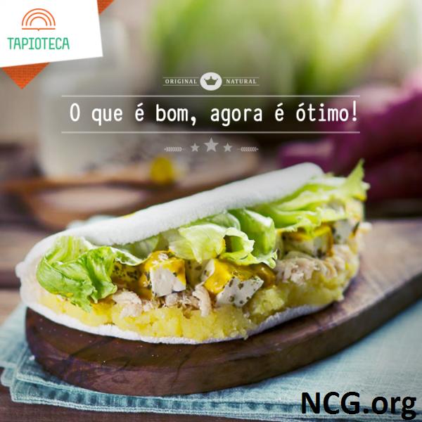 Restaurante sem glúten em Rio de Janeiro (RJ) - Tapioteca - Tapioca Rio sem glúten e lactose. NCG.org
