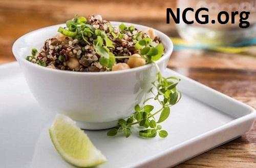 Salada de quinoa sem glúten - Restaurante sem glúten em Higienópolis (SP) - Nambu - Não Contém Glúten
