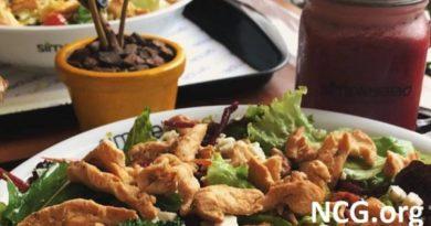 Restaurante sem glúten em Santa Catarina (SC) Simples Salad - NCG.org