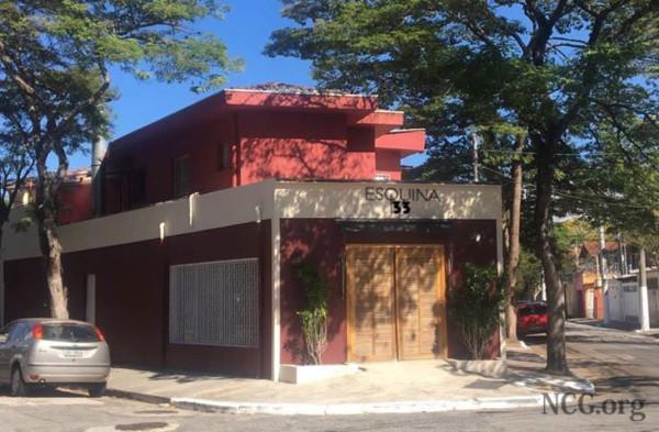 Restaurante sem glúten em São Paulo (SP) - Esquina 33 - Fachada sem glúten. NCG.org
