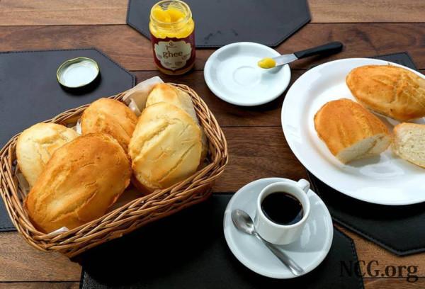 Pães sem gluten com café - Padaria sem gluten e sem lactose em Goiânia (GO) Sanus - NaoContemGluten.ORG
