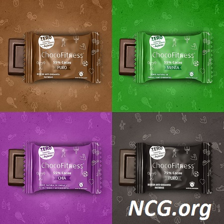 Tabletes de chocolate sem açúcar e sem gluten - Chocolate ChocoFitness tem gluten ?? Veja aqui a resposta do SAC - Não Contém Gluten