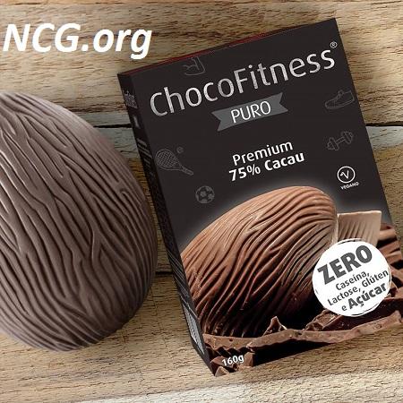 Ovo de páscoa 75% cacau ChocoFitness sem gluten – Chocolate Genevy tem gluten ?? Veja aqui a resposta do SAC – NaoContemGluten