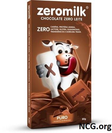 Tablete de chocolate sem gluten e sem leite - Chocolate ZeroMilk tem gluten ?? Veja aqui a resposta do SAC - Não Contém Gluten