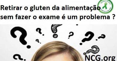 Retirar o gluten da alimentação sem fazer o exame é um problema ?