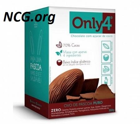 Ovo de páscoa 70% cacau Only4 sem gluten – Chocolate Genevy tem gluten ?? Veja aqui a resposta do SAC – NaoContemgluten.ORG