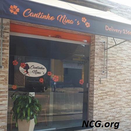 Fachada do restaurante Cantinho Ninas sem gluten +10 Restaurantes sem gluten em São Paulo - NaoContemGluten.ORG