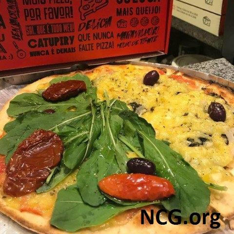 Pizza meio-a-meio sem gluten da Pizza For Fun +5 Deliverys sem gluten em São Paulo - NaoContemGluten.ORG