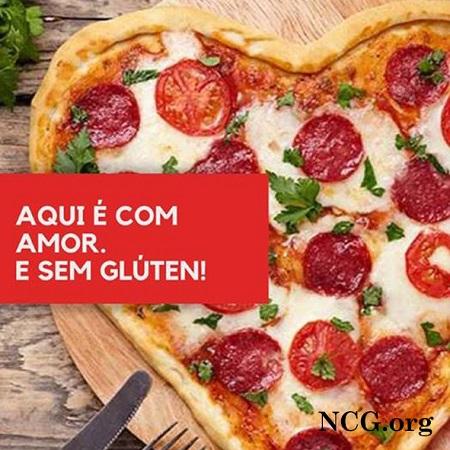 Pizza de perperoni sem gluten da Sky Food Pizza +5 Deliverys sem gluten em São Paulo - NaoContemGluten.ORG