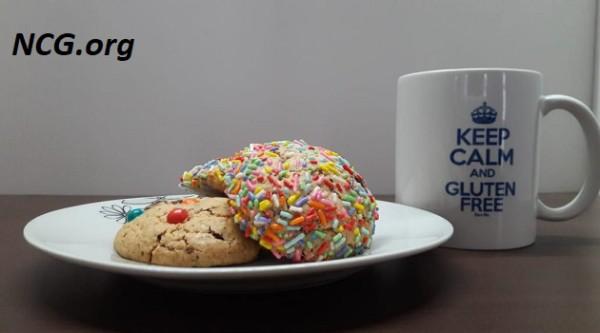 Cookie sem gluten e sem leite - Cookie americano na Não Contém Glúten by Silvia Kawaguti - NaoContemgluten.ORG