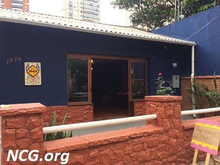 Fachada House of Maya sem gluten - Padaria sem gluten em São Paulo (SP) House of Maya - NaoContemGluten.ORG