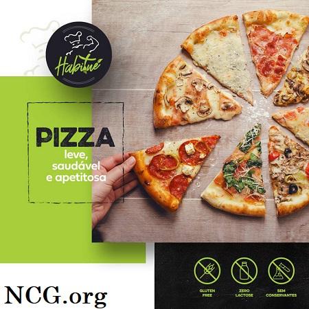 Pizzas sem gluten - Pizzaria sem gluten em Rio de Janeiro (RJ) Habitué Fit - Não Contém Gluten