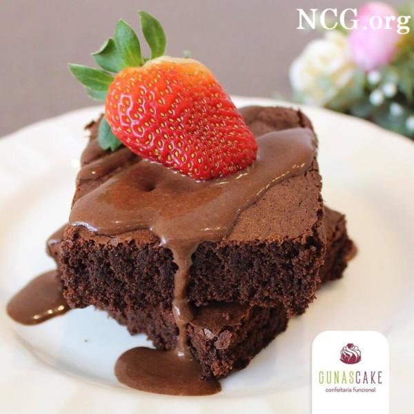 Brownie sem gluten - Confeitaria sem gluten em Chapecó (SC) Gunas Cake - Não Contém Gluten