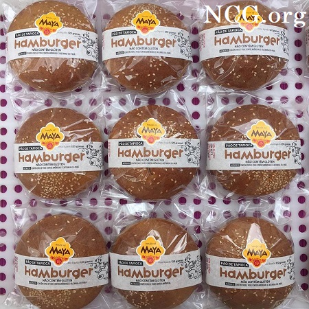 Hamburguer sem gluten - Padaria sem gluten em São Paulo (SP) House of Maya - NaoContemGluten.ORG