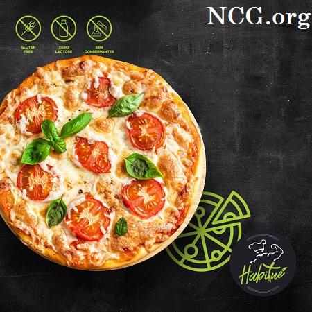 Pizza marguerita sem gluten - Pizzaria sem gluten em Rio de Janeiro (RJ) Habitué Fit - Não Contém Gluten
