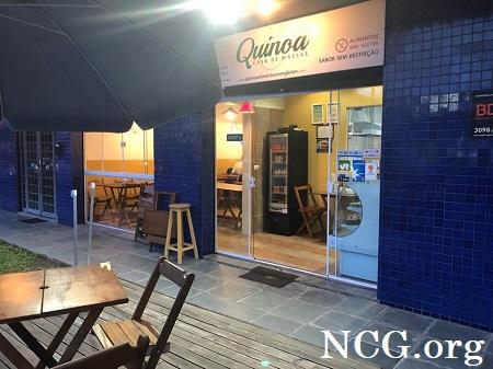 Fachada sem gluten - Restaurante sem gluten em Curitiba (PR) Quinoa - NaoContemGluten.ORG
