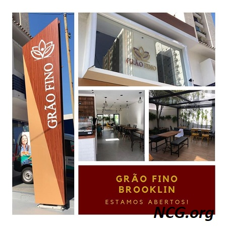 Interior e exterior da Grão Fino - Inauguração da Grão Fino no Brooklin (SP) - NaoContemGluten.ORG