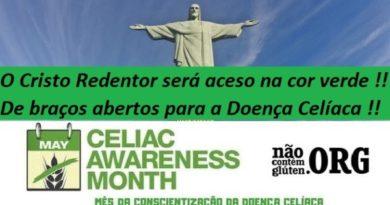 O Cristo Redentor será aceso na cor verde !!