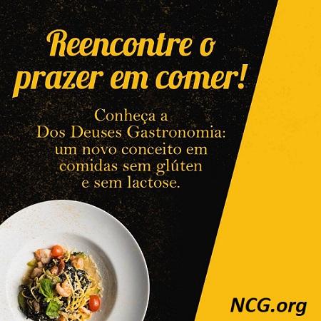 Delivery sem gluten em SP : Dos Deuses Gastronomia - NaoContemGluten.ORG